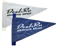 Вымпел треугольный Deel.ru ART 1107 Triangular flag Deel.ru