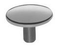 DOT Durable Лицевая часть кнопки ART 4035 Durable dot cap - brass nickel finish