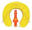 Спасательный круг мягкий с буем ART 4292 Set composed: horse shoe, bracket, light