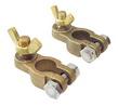 Клеммы бронзовые с барашками и нержавеющими болтами ART 4308 Bronze battery connection with stainless steel bolt and nut