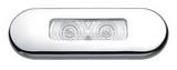 Мини-светильник овальный 2 светодиода ART 4325 LED installation light, 2 LED's