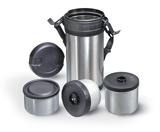 Термоконтейнер на три блюда 1,5л ART 4597 Set of food containers