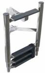 Трап с креплением на носовой якорь 4 ступени ART 5004 Bow ladder for Lee-anchor
