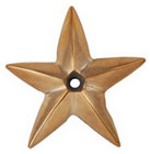 "Значок ""Звезда"" Davey & Company ART 5334 Star five-pronged bronze DAVEY"