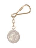 Брелок стеклянный шар в сетке ART 7309 Key chain- rope tie