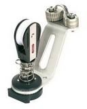 Балеринка гика-шкотов со стопором и стоячим такелажным блоком 50мм анодированная PEM ART 7357 Anode cam base with stand up block (ball bearing)