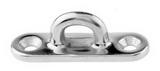 Обушок литой на пластине ART 8224 Pad eye diamond base