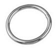 Кольцо круглое полированное ART 8229 Round ring, welded and polished