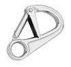 Карабин страховочный с двойной фиксацией ART 8338 Spring hook with double locking equepment