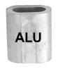 Зажим троса алюминий ART 8471 Ferrules - aluminium