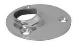 Круглое основание стойки для приварки трубы 60° ART 8613 Rectangular-round base for welding - 60°