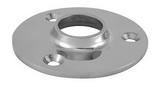 Круглое основание стойки для приварки трубы 90° ART 8614 Round base for welding - 90°