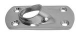 Основание стойки для приварки трубы 45° ART 8615 Round base for welding - 45°