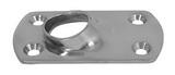 Основание стойки для приварки трубы 60° ART 8616 Rectangular base for welding - 60°