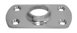 Основание стойки для приварки трубы 90° ART 8617 Rectangular base for welding - 90°
