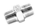 Соединитель прямой с наружной резьбой Н/Н ART 8627 Double thread