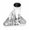 Угловой стакан леерных стоек с наклоном 3° ART 8634 Tanchion base - 3°