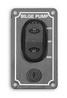 Выключатель помпы 90x50 с предохранителем ART 8681 Waterproof bilge pump switch