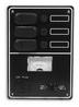 Панель выключателей 3 клавиши 190x135 алюминий ART 8687 3 gang waterproof switch panel