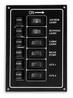 Панель выключателей 6 клавиш 170x115 алюминий ART 8688 6 gang switch panel