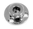 Проход для кабеля герметичный хромированная латунь ART 8726 Cable outlet, brass crome plated