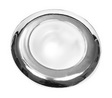 Интерьерный потолочный светильник d80 хромированная латунь ART 8758 Flush mount interior light
