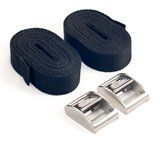 Две стропы с нержавеющими пряжками ART 8823 2 fixing belts with closure