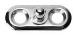 Tenax штифт на пластине с двумя отверстиями ART 8839 Tenax lower section for screw joint German type