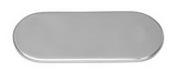 Накладка декоративная овальная ART 8908 Flat oval bar