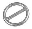Кольцо с перемычкой ART 8963 Round ring - center cross bar