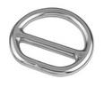 Кольцо с перемычкой ART 8975 Double layer dee ring
