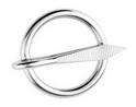 Кольцо с гвоздем ART 8270