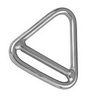 Кольцо треугольное с перемычкой ART 8965