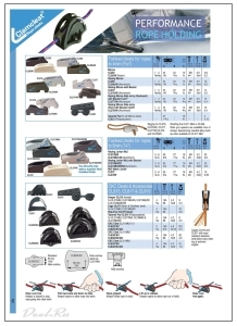 Каталог CLAMCLEAT - Clamcleat стопора Farlead cleats to 4-6mm & Accessories - Deel.ru